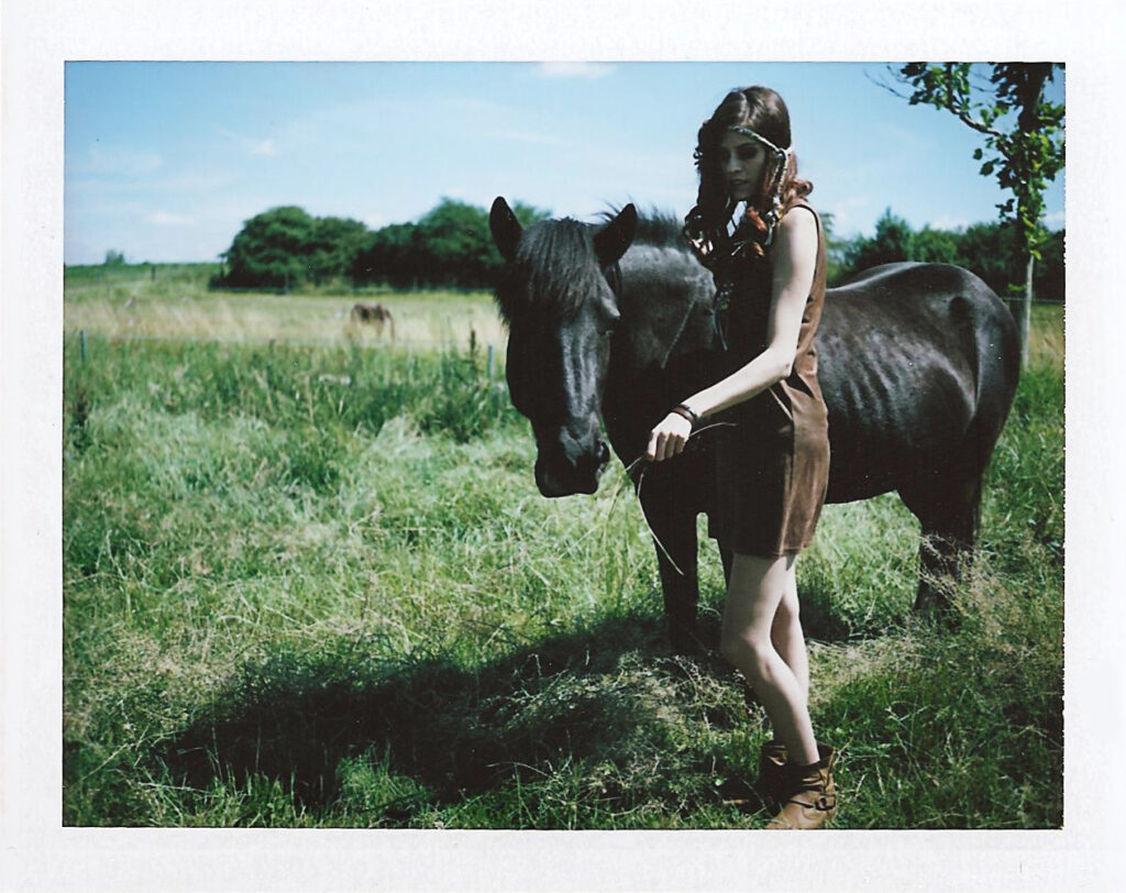 Fujifilm Polaroid Hippie peel apart film