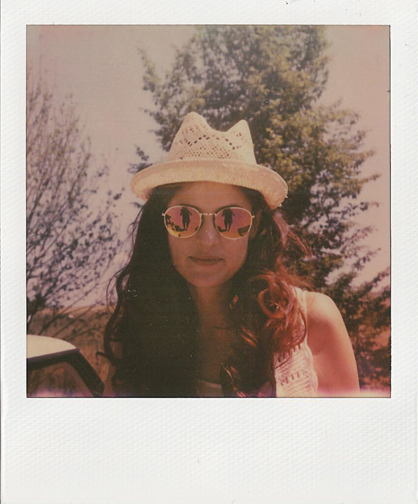 Polaroid Hippie the impossible project
