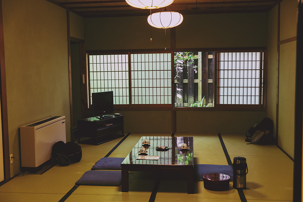 Japan Shukubu Koyasan traditional hotel room