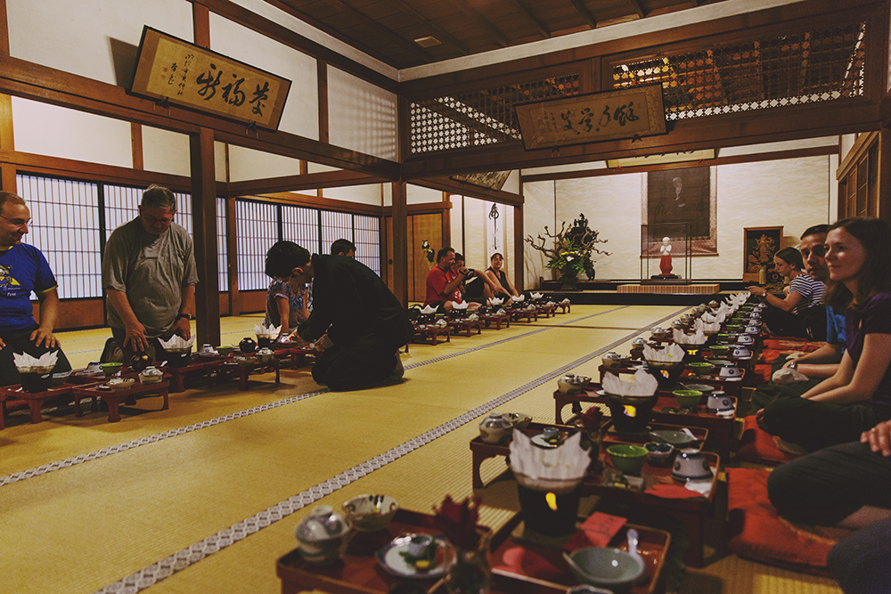 Japan Shukubu Koyasan traditional meal