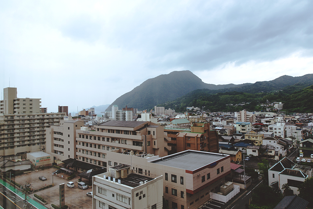 Japan Beppu view