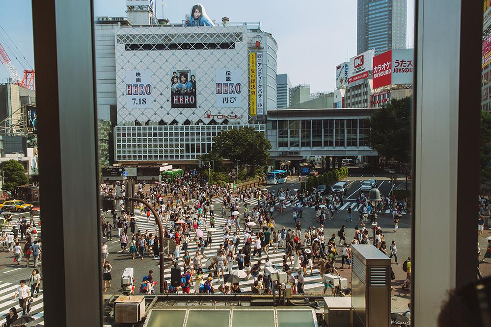 Japan Tokyo Tokio Shibuja crossing people