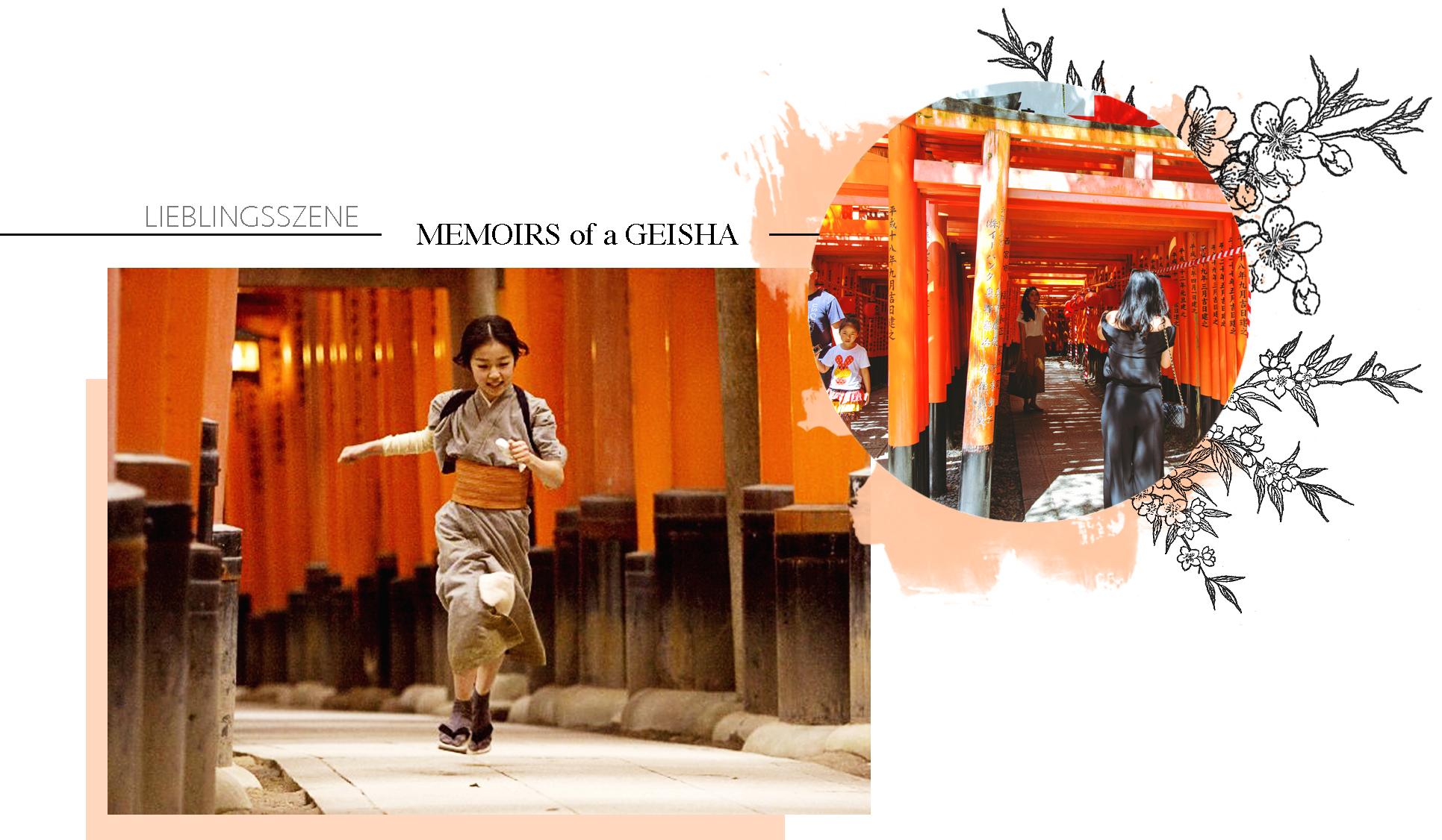 Memoirs of a Geisha Fushimi Inari-Taisha Torii Kyoto Japan