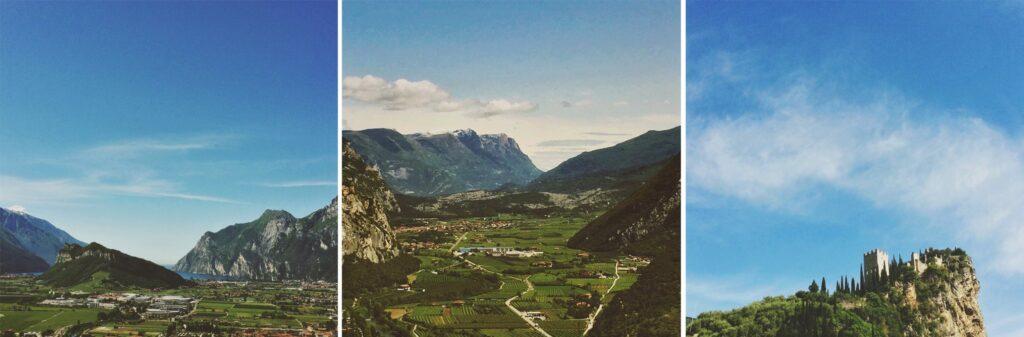 View from Arco, Lake Garda, Italy