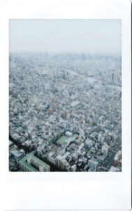 Japan; Tokyo; view from the Skytree over the city
