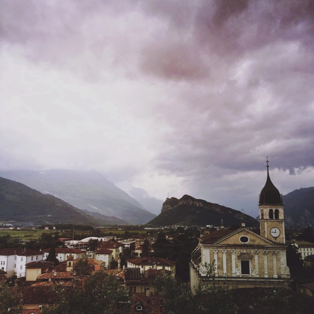 View from the castle in Arco; Lake Garda; Italy; iPhone5s snapshot, mobile photography, edited with mextures & afterlight
