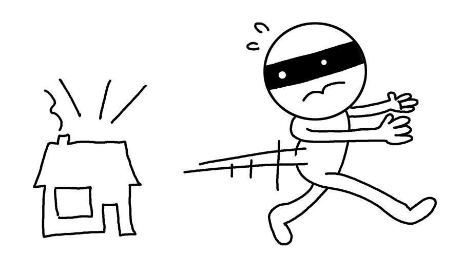 Funny sketch thief