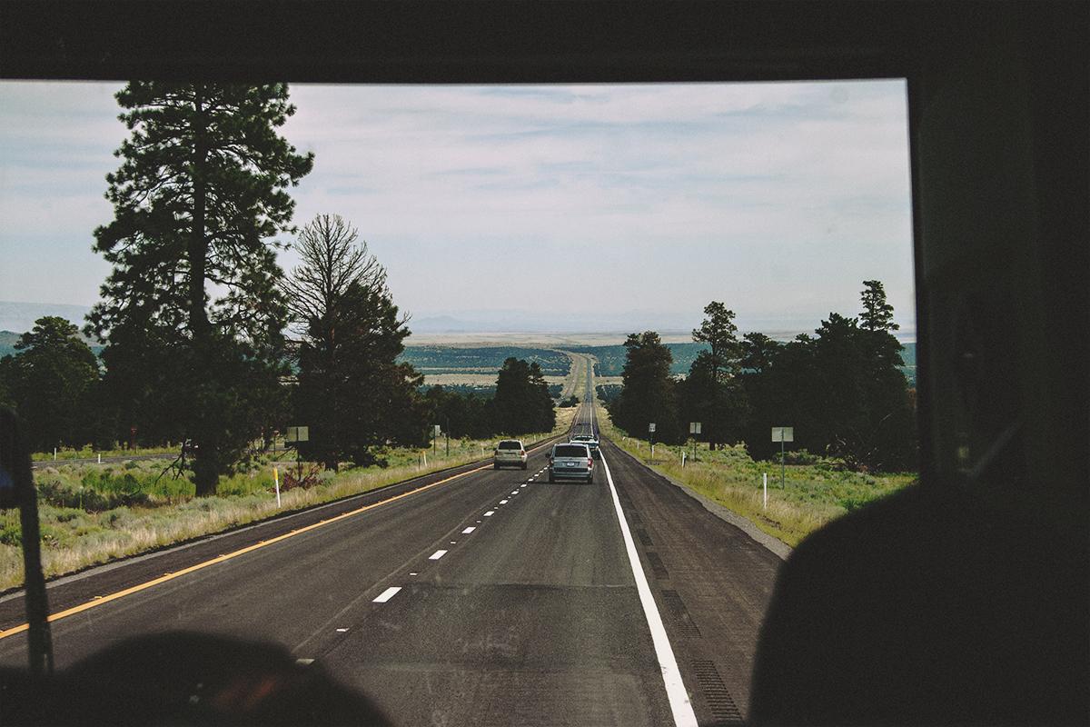 Fernweh; Roadtrip durch Amerika
