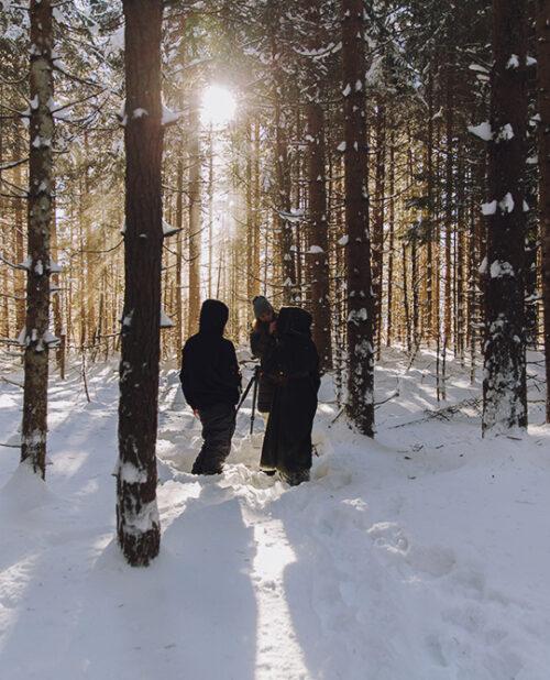 Cap Kendricks; Frozen Fortress Musicvideo Behind the Scenes