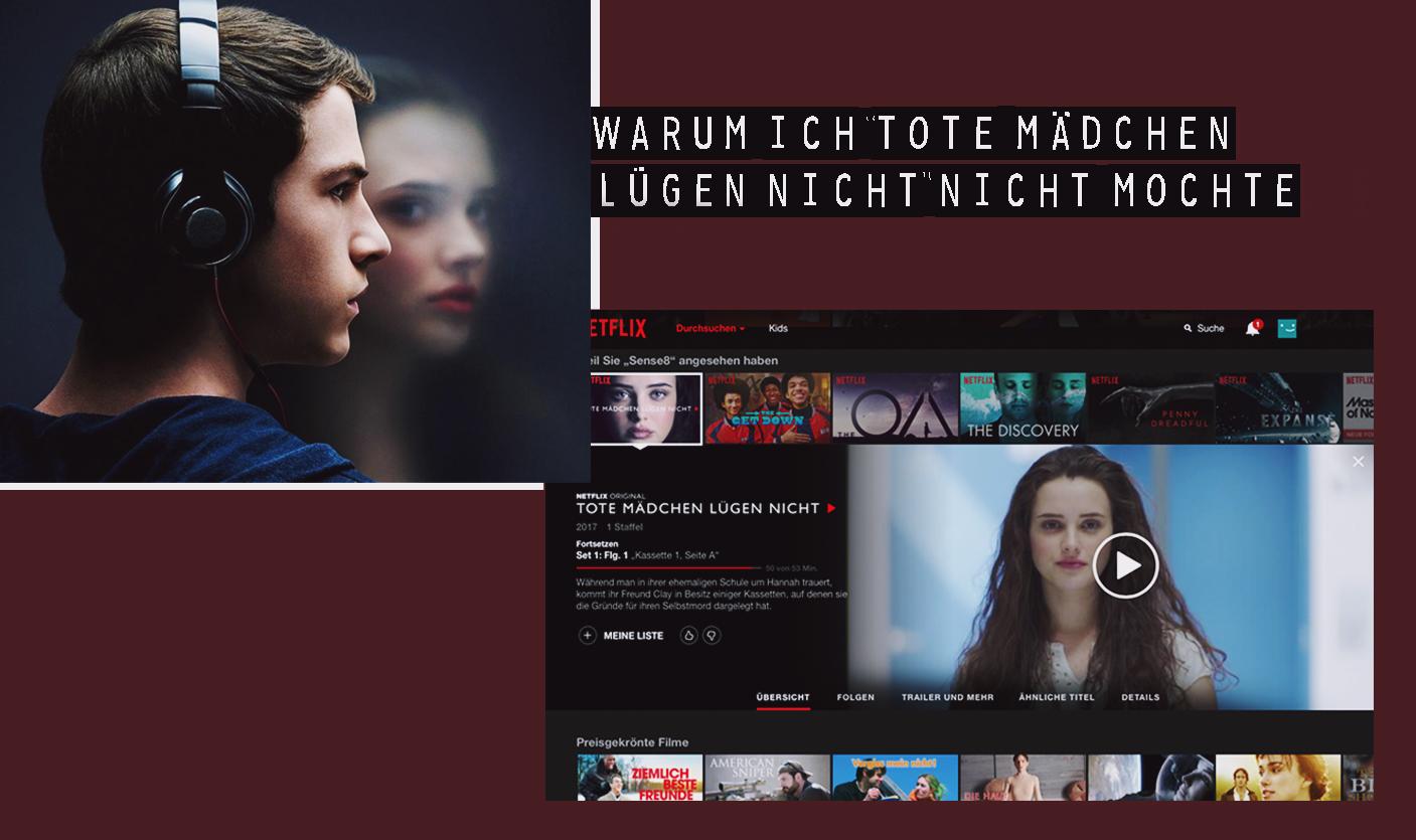 Tote Mädchen lügen nicht; Netflix