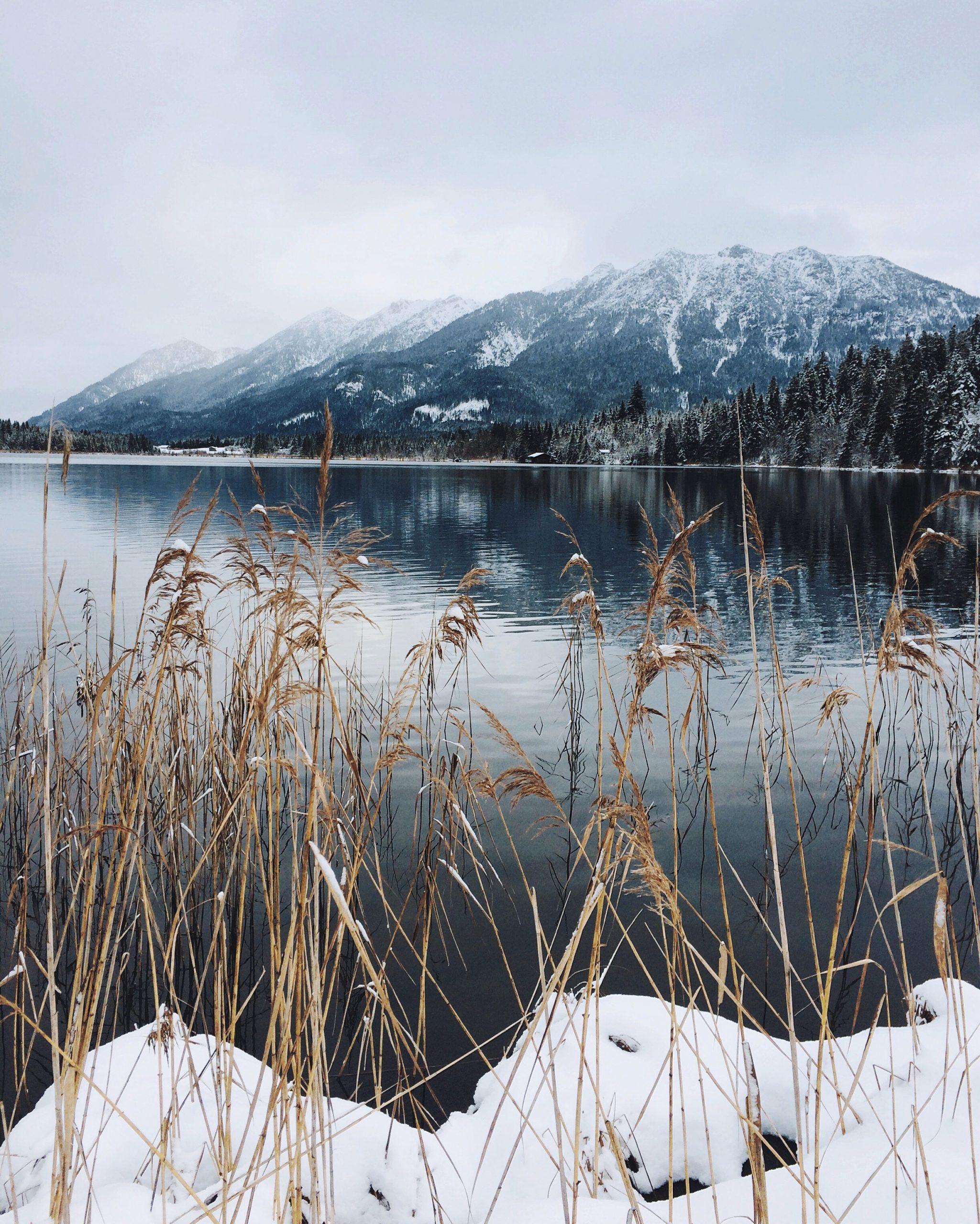 Barmsee; Bayern; Deutschland; iphoneonly