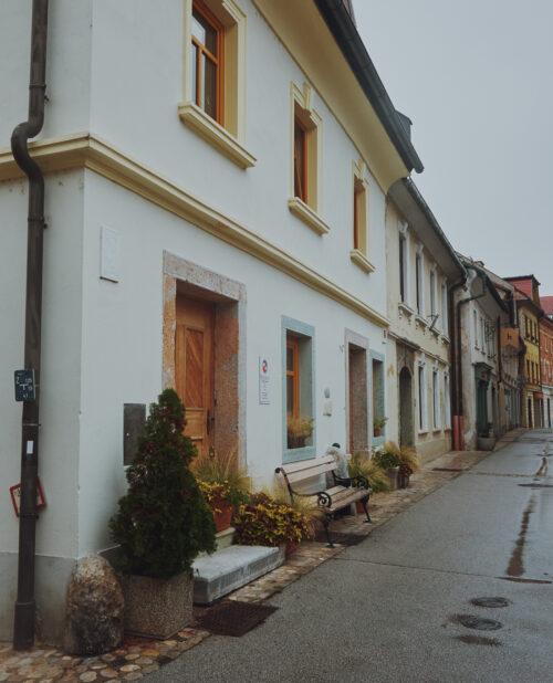Altstadt von Kranj in Slowenien